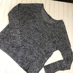 Ambiance Classic Pullover in Heather Black